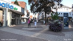 Stadtbummel durch Korbach Fußgängerzone im Aug.  2018 in 4K, von tubehorst1