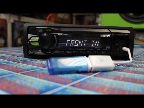 Видеообзор на переходник USB-AUX. Вся суть в конце!!!