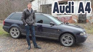 Автозвук в Audi A4 на 50000, весь тюнинг, сабвуфер сделаны своими руками