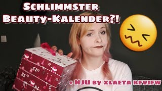 SCHLIMMSTER BEAUTY-ADVENTSKALENDER?! + NJU Review | x.ohmyjay