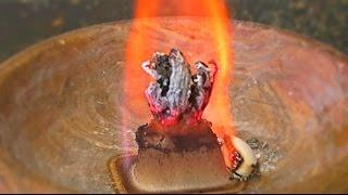 What Happens If Calcium Gluconate Set on Fire