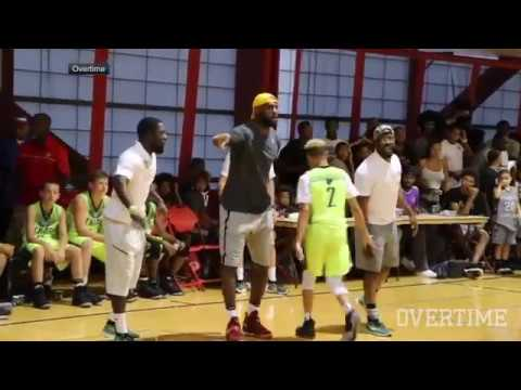 Download Youtube: LeBron James coaches his son's game in Las Vegas