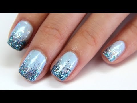 glitter gradient nail tutorial drunken french youtube glitter gradient nail tutorial drunken french prinsesfo Gallery
