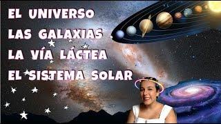 El universo, las galaxias, la vía láctea y el sistema solar - 1º ESO - Bio[ESO]sfera