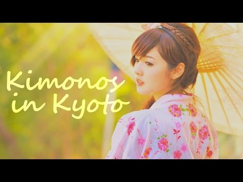 Kimonos in Kyoto - Slideshow with Traditional Japanese Music