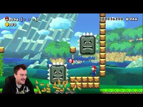 Hard, then it's hard - 100 Mario Super Expert