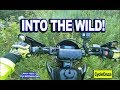 Into the WILD FOREST on WR250R - Will I Make it Out?
