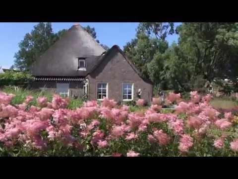 Three Gardens in North Holland the Netherlands.