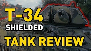 World of Tanks || T-34 Shielded - Tank Review
