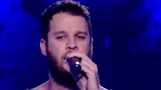 Άκης Παναγιωτίδης - Skyfall   The Voice of Greece - The Blind Auditions (S02E01)