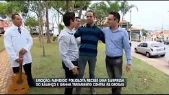 Grand House no Balanço Geral resgata poliglota que morava nas ruas