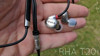 RHA T20i - как произведение искусства! Подробный обзор аудиофильских внутриканальных наушников.