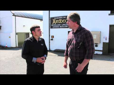 Ardbeg Distillery Isle of Islay - some great views and information