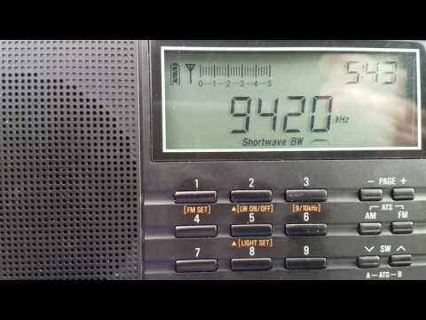 9420 khz Voice of Greece
