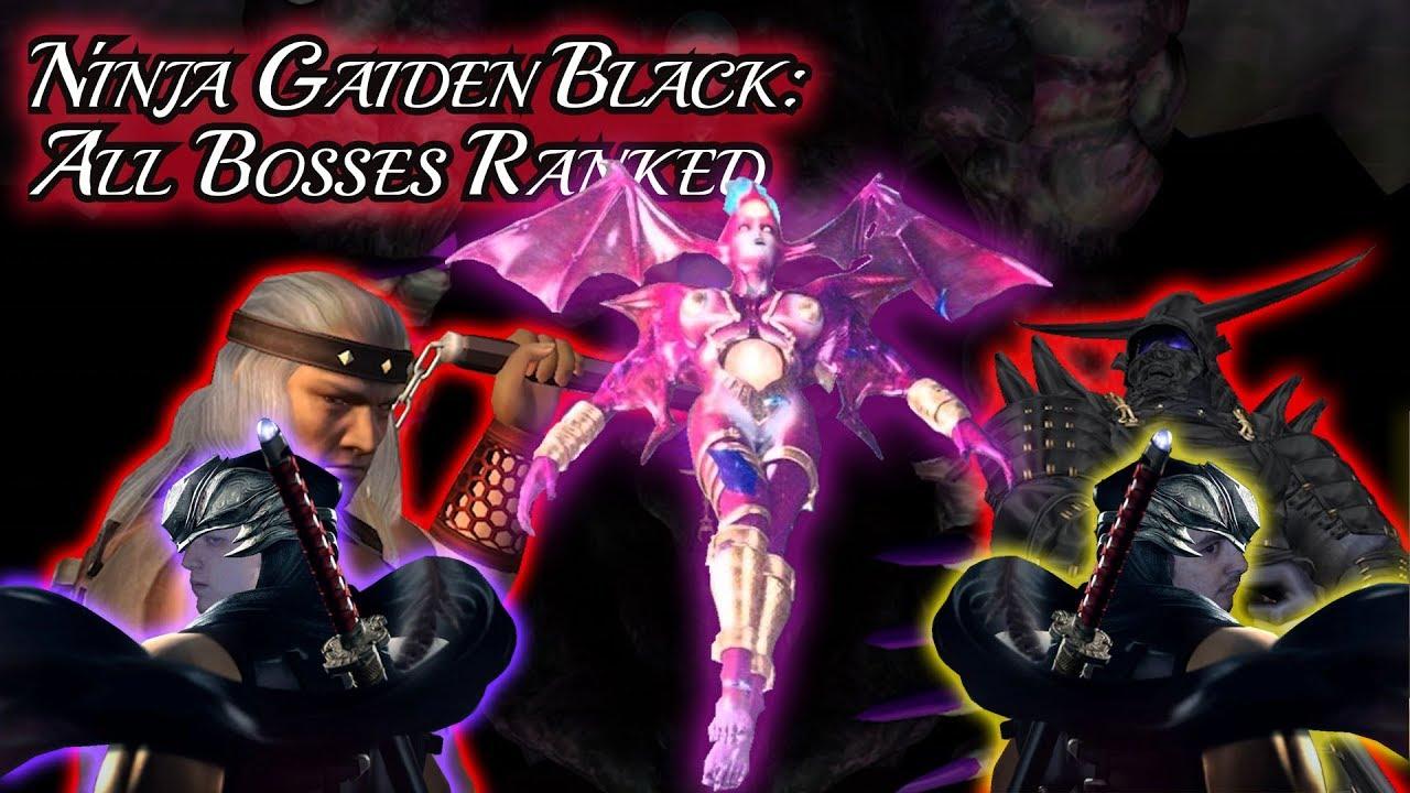Ninja Gaiden Black All Bosses Ranked Easiest To Hardest Boss