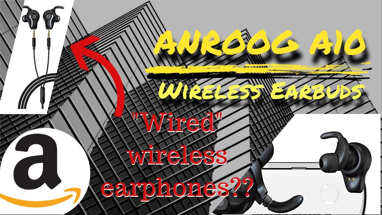 Wireless Earbuds (ANROOG A10) from Amazon