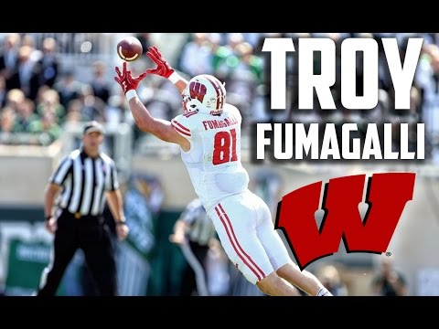 Troy Fumagalli Official Highlights |Wisconsin Star Tight End| ᴴ ᴰ