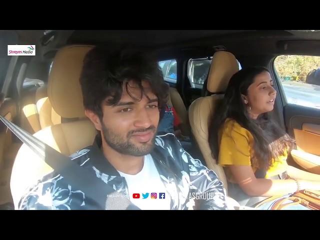 Vijay The Taxi Driver ft. Vijay Deverakonda Fun Ride with Public || Taxiwaala