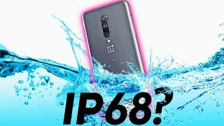 OnePlus 7 Pro WATER Test - Unofficial IP68??!!