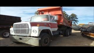 1971 Ford 9000 dump truck for sale | no-reserve Internet auction May 12, 2016