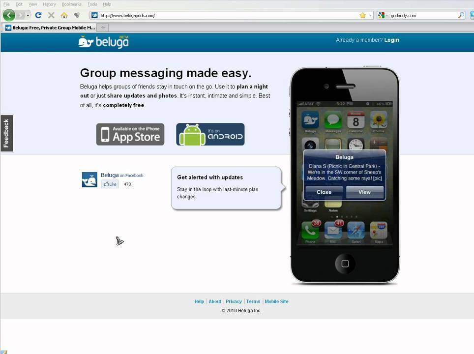Beluga com - Group SMS Text Messaging Made Easy