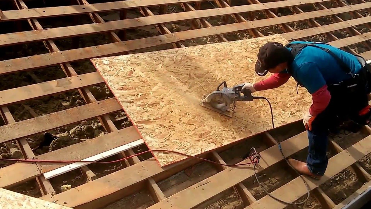 How To Install Plwood Sheathing The Best Installation