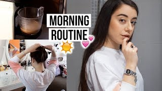 MY MORNING ROUTINE ☕️ // Long Hair Edition