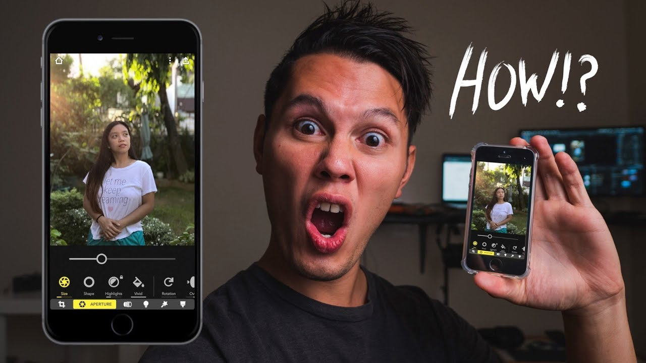 Portrait Mode on ANY iPHONE! (Focos App it's FREE!)