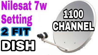 Download Video Nilesat 7w 2 Fit Dish Full setting MP3 3GP MP4