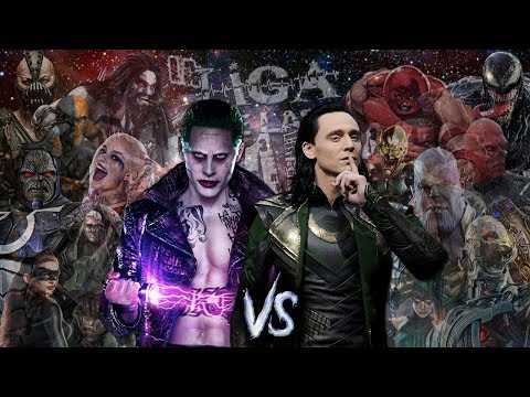Joker vs Loki. Liga de las Batallas de Rap || El Final || RTX Ft. Keyto