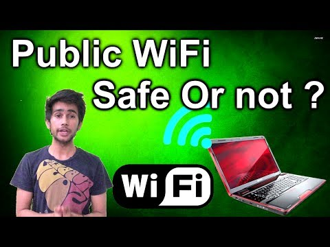 [HINDI] - iS Public wifi safe to use or They FOOL US ?