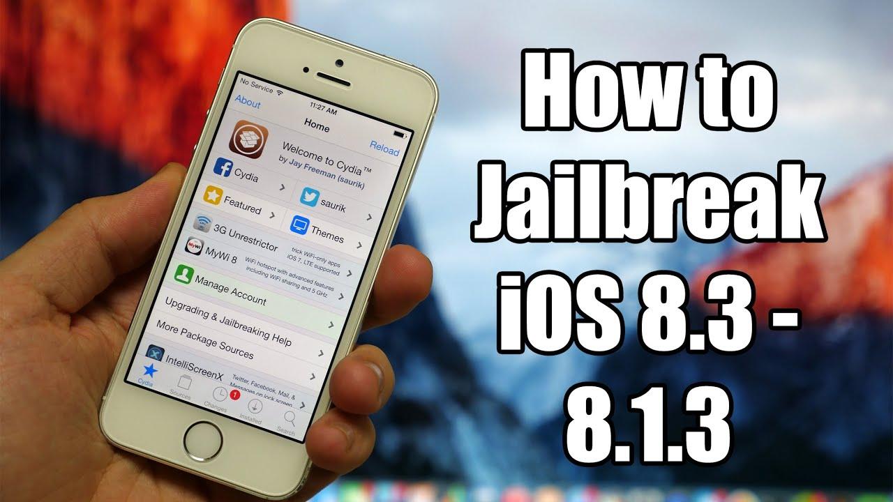 Easy how to jailbreak ios 8. 4 8. 3 8. 2 8. 1. 3 install cydia.