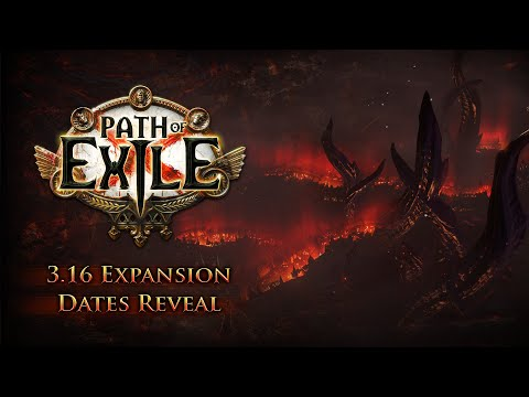 Path of Exile 3.16 Expansion Dates Reveal