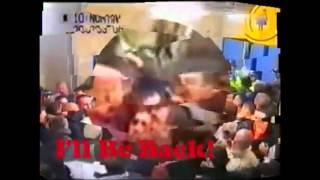 Oxford United v Aston Villa FA Cup 2002 - Football Hooligans