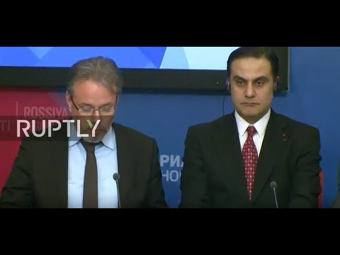 LIVE: International observers deliver report on Russian election