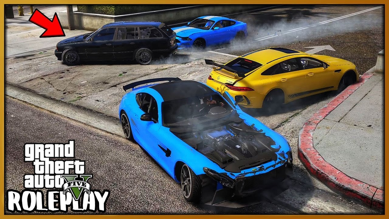 GTA 5 Roleplay - 'CRAZY' BMW Driver Cause Trouble at Car Meet | RedlineRP #761 thumbnail