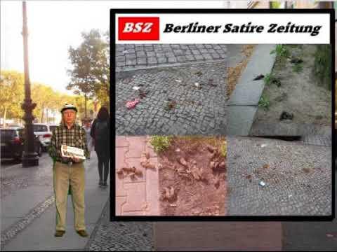 Die BSZ - Berliner Satire Zeitung Nr.  001