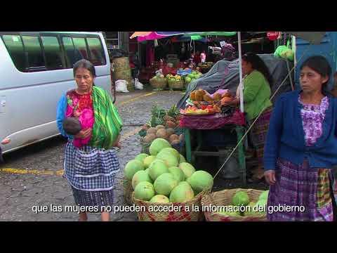 La información transforma la vida de las mujeres en Guatemala