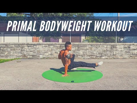 TRAIN PRIMAL: 12-minute Bodyweight Workout to Get LEAN & ATHLETIC