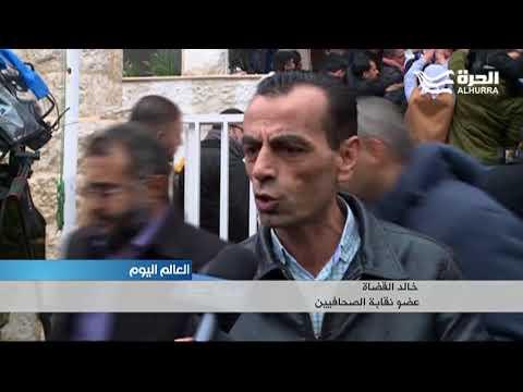 اعتصام للصحافيين في الأردن احتجاجا على اعتقال زميلين لهم اشتكاهما وزير المالية  - 18:22-2018 / 1 / 17