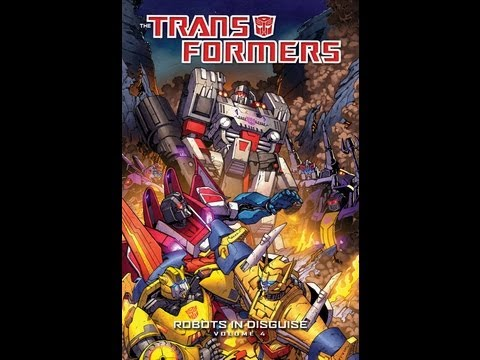Transformers Comic Review – IDW Robots In Disguise Volume 4