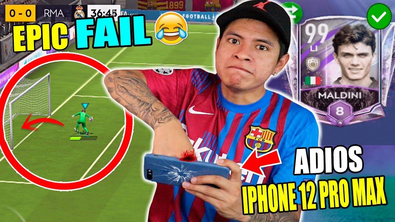 EL PEOR FAIL QUE ME PASÓ en FIFA MOBILE 😱 *NO CREERÁS LO QUE HICE*