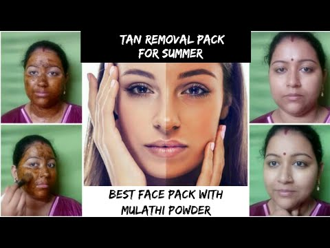 best-tan-removal-pack-with-mulathi-powder-||-get-instant-glowing-skin-||beauty-with-brain