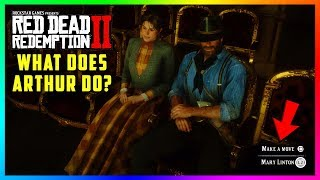 What Happens If Arthur 'Makes A Move' On Mary Linton During Their Date In Red Dead Redemption 2?