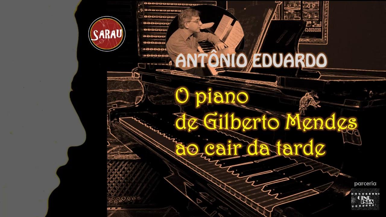 Capa: O PIANO DE GILBERTO MENDES AO CAIR DA TARDE