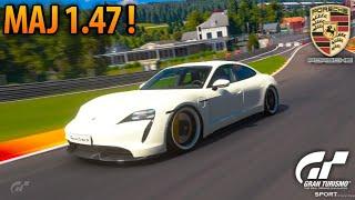 GT SPORT : Découverte de la Maj 1.47 ! (Porsche Taycan test Spa Francorchamps)