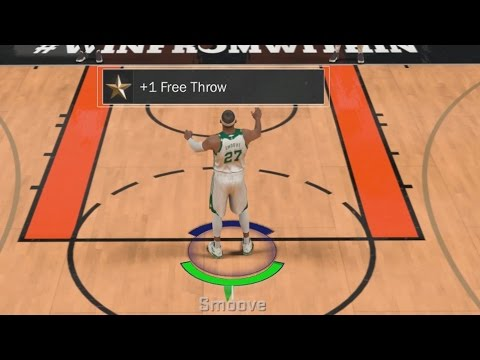 NBA 2K17 My Career - How To Upgrade Free Throw Rating!