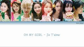 Watch Oh My Girl Je Taime video