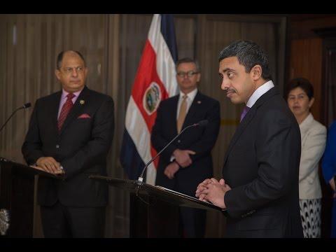 Visita Oficial H. H. Sheikh Abdullah bin Zayed Al Nahyan, Ministro de Relaciones Exteriores de lo...