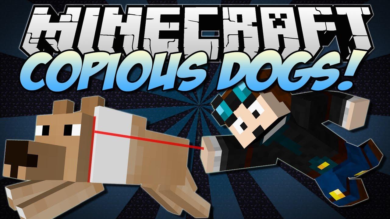 Minecraft More Dogs Mod